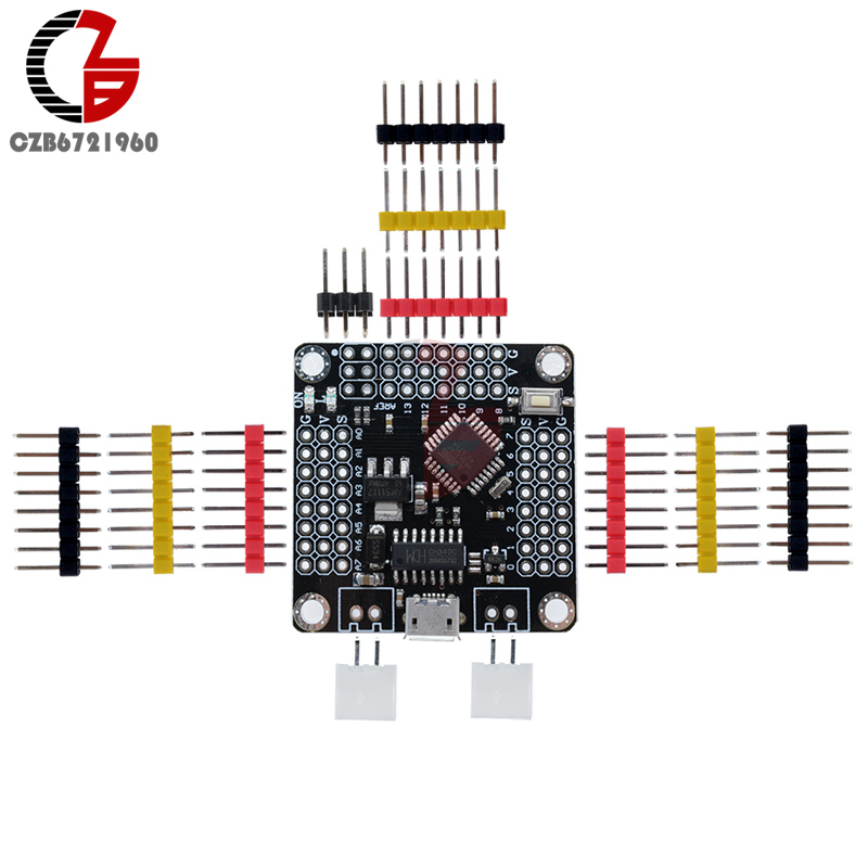 CH340 CH340G TTL USB NANO V3.0 Atmega328 Pro Mini Strong Module Atmega328P Microcontroller Board For Arduino IIC I2C SPI все цены