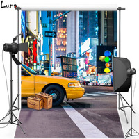 New Fabric Polyester Photography Background Backdrop For Children City View Vinyl Background For Wedding Photo Studio 2232