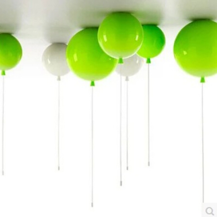 Ceiing Mounted modern hanging lamps kids bedroom  Colorful Balloons Acrylic pendant lighting for restaurants bar vemma acrylic minimalist modern led ceiling lamps kitchen bathroom bedroom balcony corridor lamp lighting study