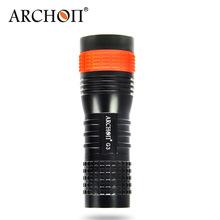 Diving Flashlight ARCHON G3 Deep Diving Light 100m Waterproo