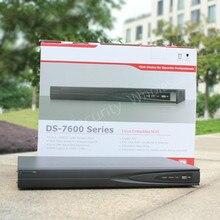 На складе бесплатная доставка Английская версия 16-КАНАЛЬНЫЙ POE NVR для Ip-камера HD 5MP Разрешение Записи DS-7616NI-E2/16 P