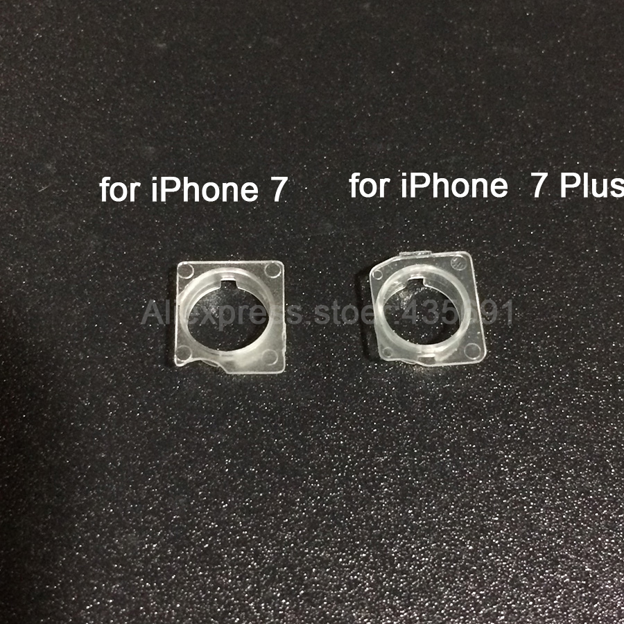 the latest fd732 704fb For iPhone 7 7Plus 100Set Proximity Sensor Front Facing Camera Plastic Cap  Holder Clip Ring Bracket Replacement Parts-in Mobile Phone Flex Cables from  ...