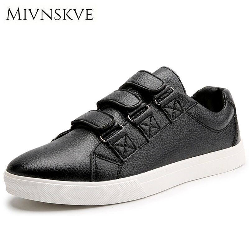 MIVNSKVE Summer Men's Shoes Breathable Leather Casual Shoes Men Luxury Brand Fashion Footwear Men Flats Autumn Shoes Sneakers vikeduo brand 2017 fashion top real leather hollow breathable men shoes leisure casual lace shoes summer spring white footwear