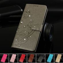 Diamond Rhinestone Case for Coque iphone X XR Xs Max 5s 6 6s 7 8 plus 4s Capa PU Leather Filp Cover Wallet Fundas Bag P03G