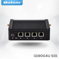 Mini Pc X86 4 Lan Qotom Q190G4 With Celeron J1900 Quad Core 2 Usb VGA Firewall