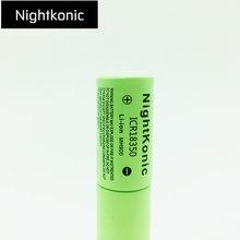 High quality Nightkonic 6 pcs/ lot ICR 18350 Rechargeable Battery 900mAh  3.7V Li-ion Battery flat top цена