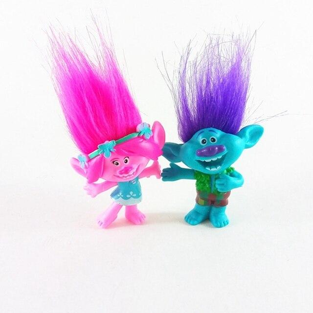 aliexpress com buy movie trolls figures poppy branch gift toys