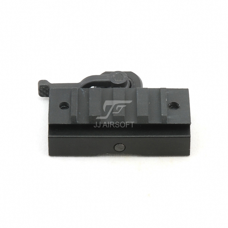 JJ Airsoft A.R.M.S. #17 DR. Throw Lever Dovetail Rail Mount