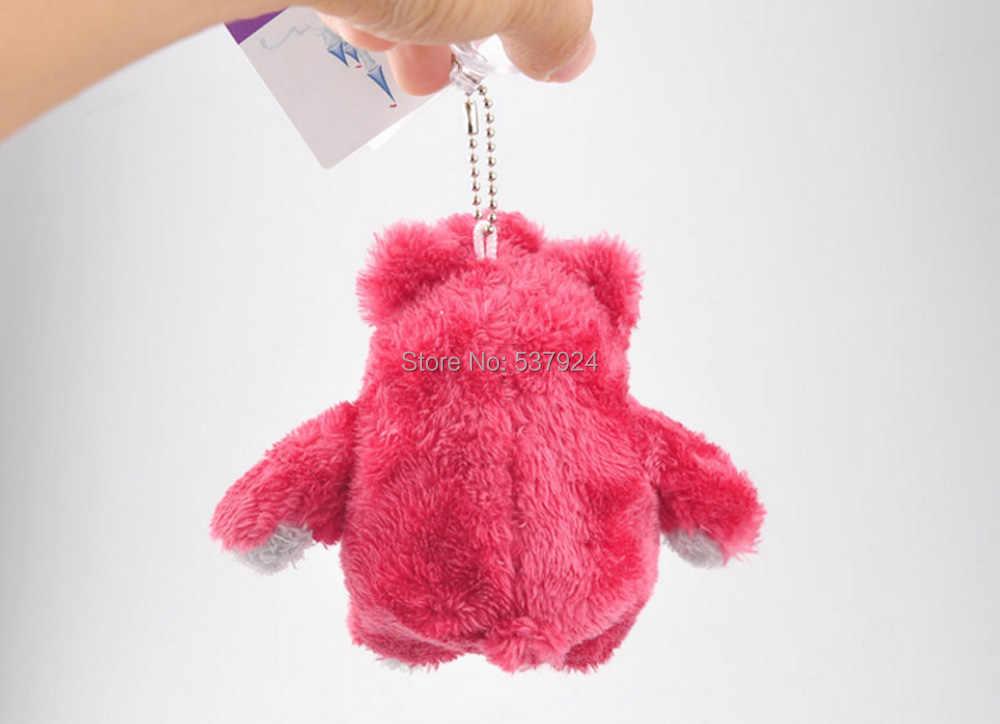"""Nowy Lotso truskawkowy niedźwiedź 4.5 """"11CM pluszowa lalka brelok wisiorek-CPPY"""