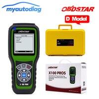 OBDStar X100 프로 D 모델 자동 주행 보정 OBD 소프트웨어 진단 도구 x-100 프로 km 주행 조정 온라인 업데이트