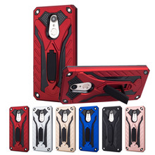 купить Anti-knock Armor Case for Xiaomi Redmi Note 6 6A 4X 5A 5 Plus Pro S2 Full-body Protective Stand PC+TPU Shockproof Back Cover дешево