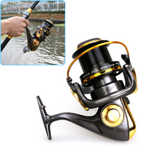 New 13BB Metal Left/Right Interchangeable Spinning Fishing Reel 4.6:1 Ratio High Speed Wheel ALS88