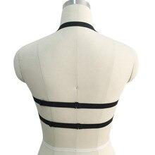 Elastic Harness Body Belt Goth Bodysuit For Females