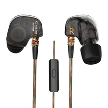 KZ ATE ATR EDR1 bakır sürücü HiFi spor kulak spor kulaklık mikrofon ile çalışmak için