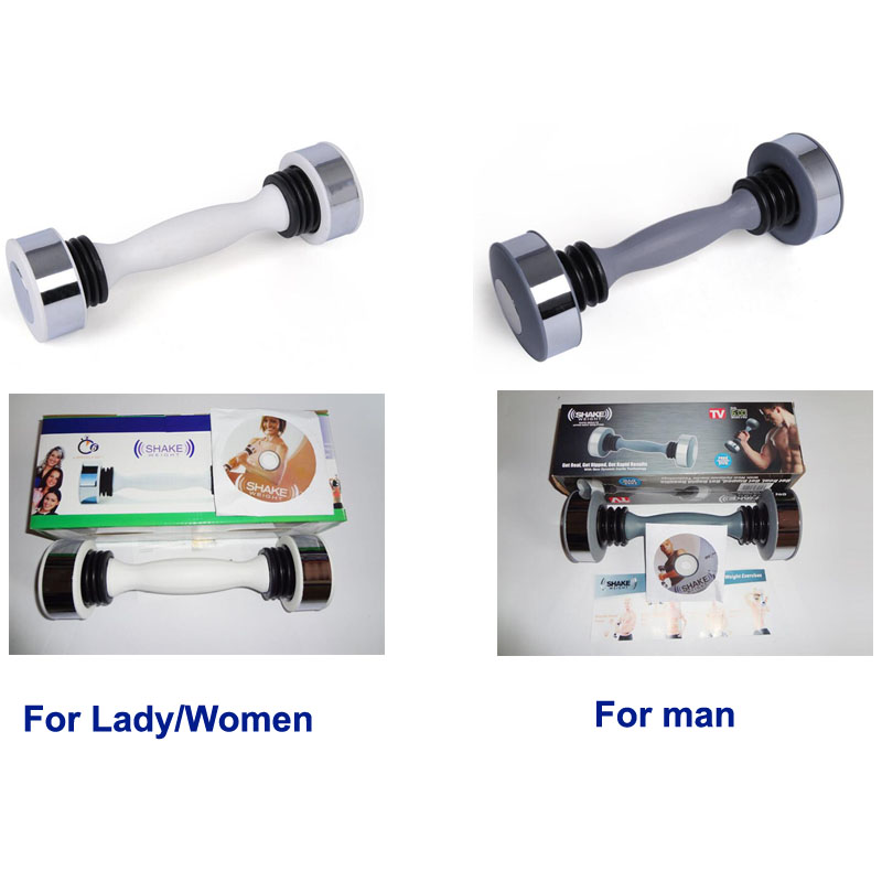 Ladies Women or Man Dumbbell Shaking Weight Keep Fitness Exercise Bodybuilding Equipment Muscle Exerciser Free Dvd Upper BodyLadies Women or Man Dumbbell Shaking Weight Keep Fitness Exercise Bodybuilding Equipment Muscle Exerciser Free Dvd Upper Body