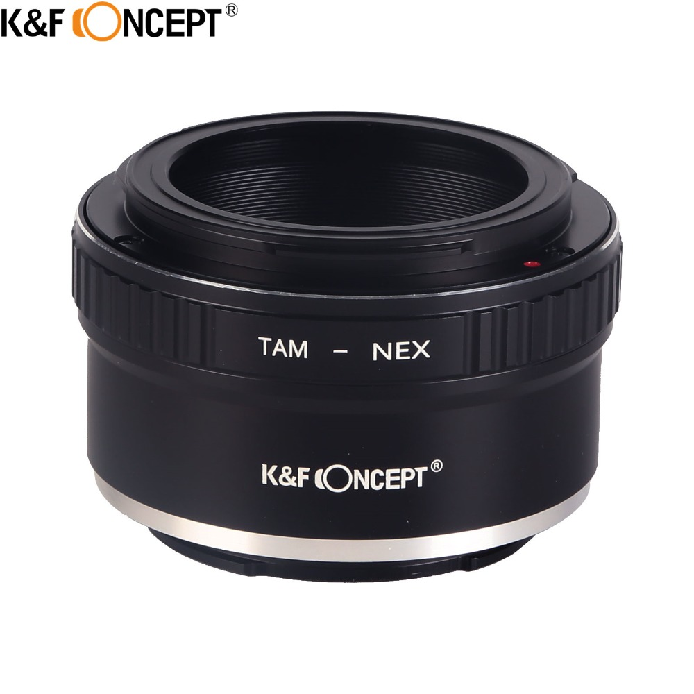 K&F CONCEPT for Tamron-NEX Camera Lens Adapter Ring fit for Tamron Lens to for Sony NEX Mount Camera Body K&F CONCEPT for Tamron-NEX Camera Lens Adapter Ring fit for Tamron Lens to for Sony NEX Mount Camera Body