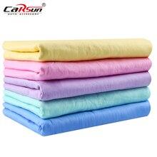 66*43*0.2 cm limpeza do carro microfibra toalhetes absorventes altos cabelo mágico toalha seca sintética camurça pva cham