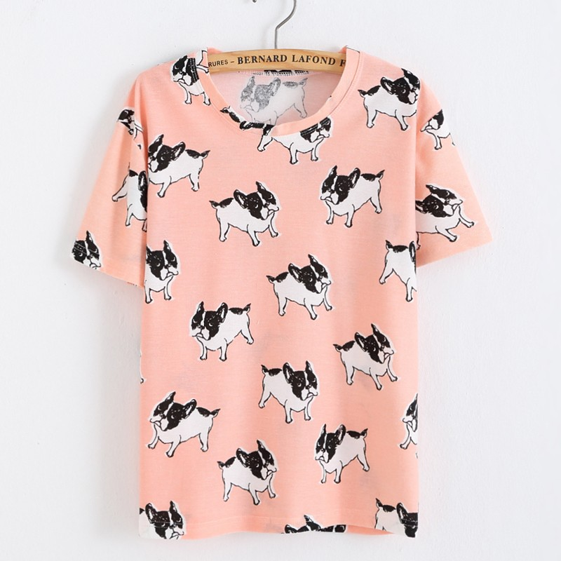 HTB1VMnRLXXXXXXPXFXXq6xXFXXX7 - Women Watermelon Printed T Shirts Loose Short Sleeve T-shirt
