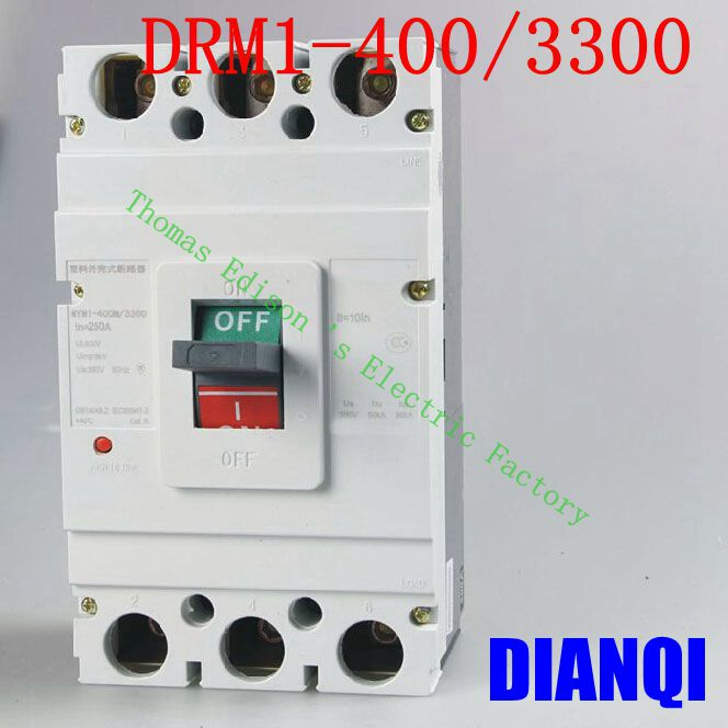 CM1-400/3300 MCCB 200A 250A 315A 350A 400A molded case circuit breaker CM1-400 Moulded Case Circuit Breaker molded case circuit breaker mccb air switch dz20y 400 3300 315a 3p variety of current optional
