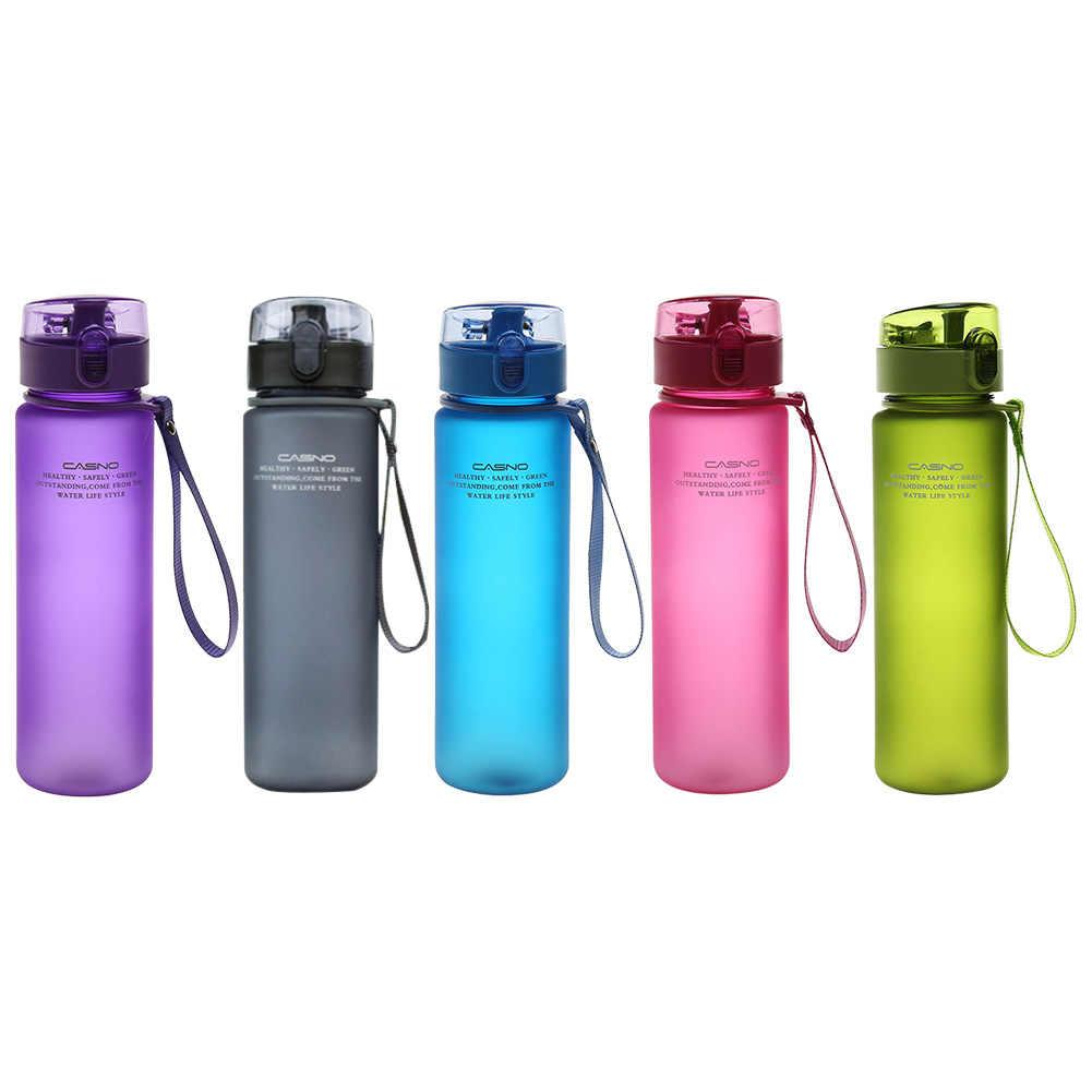 Water Bottle 560ml//18oz Plastic Drinkware Tour Outdoor Sport  Leak Proof 1 pc