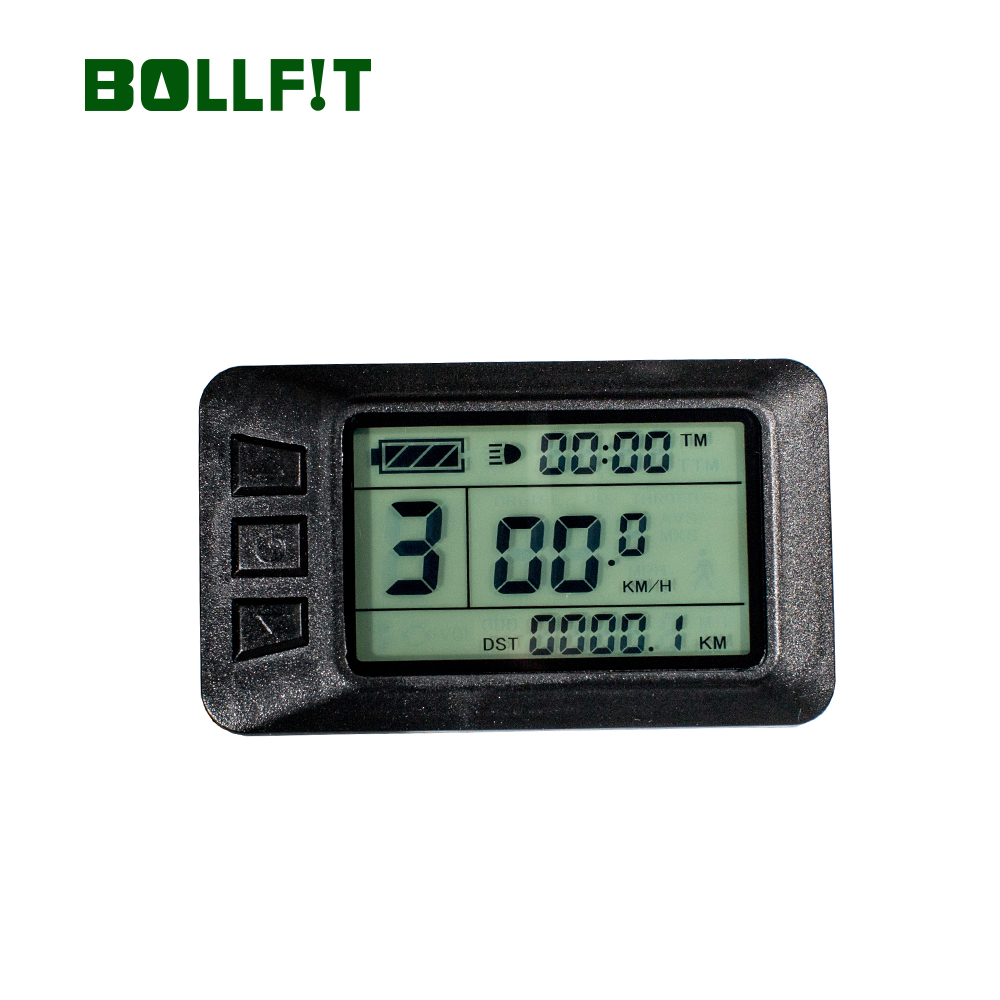 BOLLFIT Free Shipping KT Kunteng LCD7 USB New Arrival Electric Bicycle AccessoriesDisplay Electrice Bike Lcd Ebike