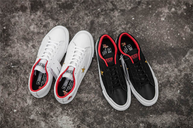2018Original new CONVERSE ALL STAR shoes Super Mario ONE STAR Men women  sneakers low canvas Skateboardings Shoes 36-44 3148b21b90