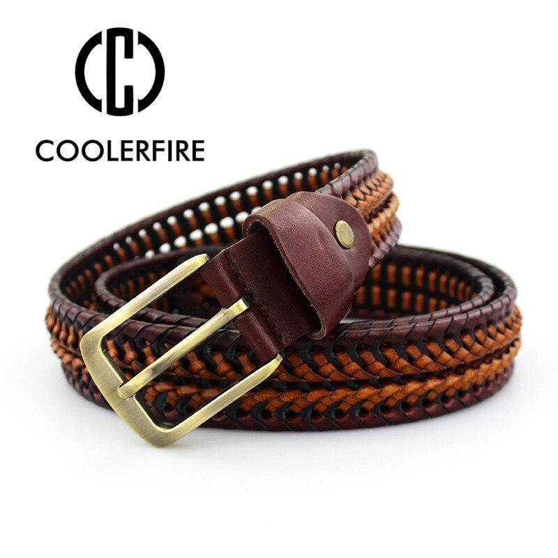as fr70771 2016 nouvelles ceintures en cuir veritable luxe tresse homme mode ebay. Black Bedroom Furniture Sets. Home Design Ideas