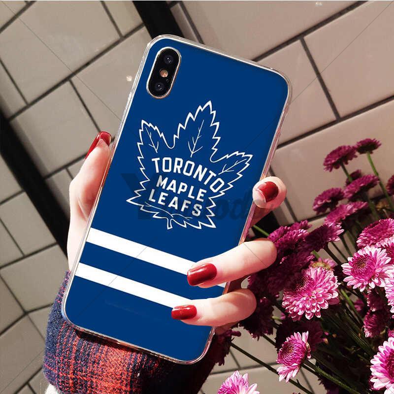 Yinuoda Hockey Coque caja del teléfono de la cáscara del teléfono para iPhone 7 7plusX XS MAX 6 6s 8Plus 5 5S SE XR