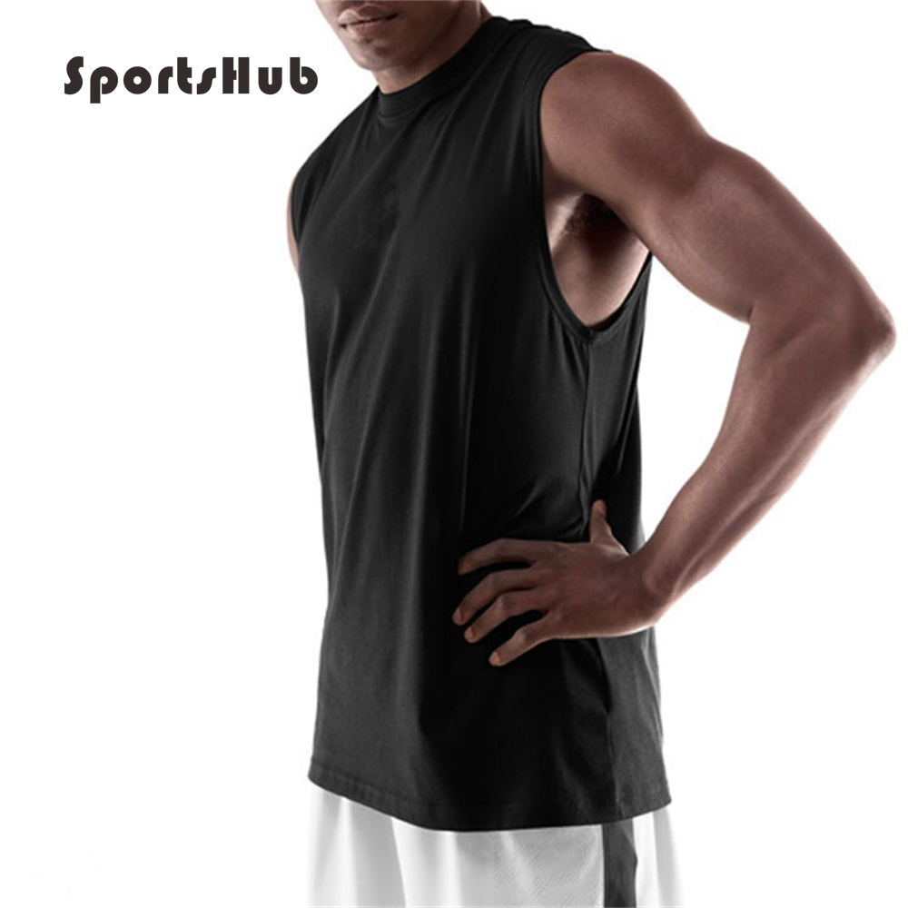 Objective Sportshub Anti-pilling Breathable Training Basketball Jerseys Vest Elasticity Cotton College Basketball Jerseys Vest Saa0046