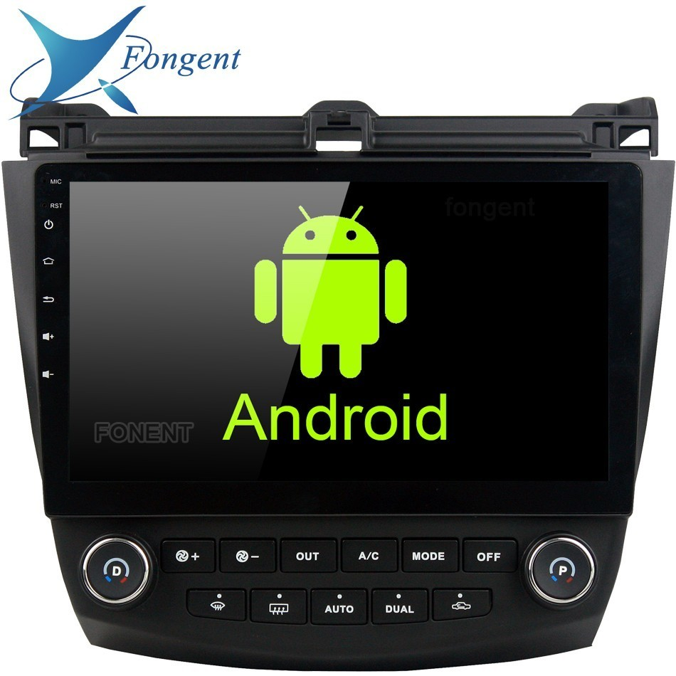 Android Unit Radio Multimedia DVD Player Unit <font><b>Stereo</b></font> Audio GPS Glonass Navigation For <font><b>Honda</b></font> <font><b>ACCORD</b></font> 7 <font><b>2003</b></font> 2004 2005 2006 2007 EQ image