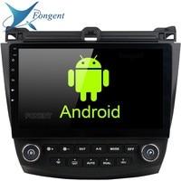 Android Unit Radio Multimedia DVD Player Unit Stereo Audio GPS Glonass Navigation For Honda ACCORD 7 2003 2004 2005 2006 2007 EQ