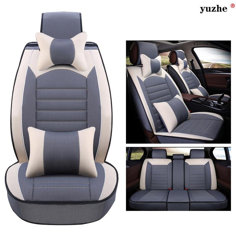 Yuzhe Lino car seat cover Per Kia soul cerato sportage optima RIO sorento K2K3K4K5 sorento Ceed auto accessori styling cuscino