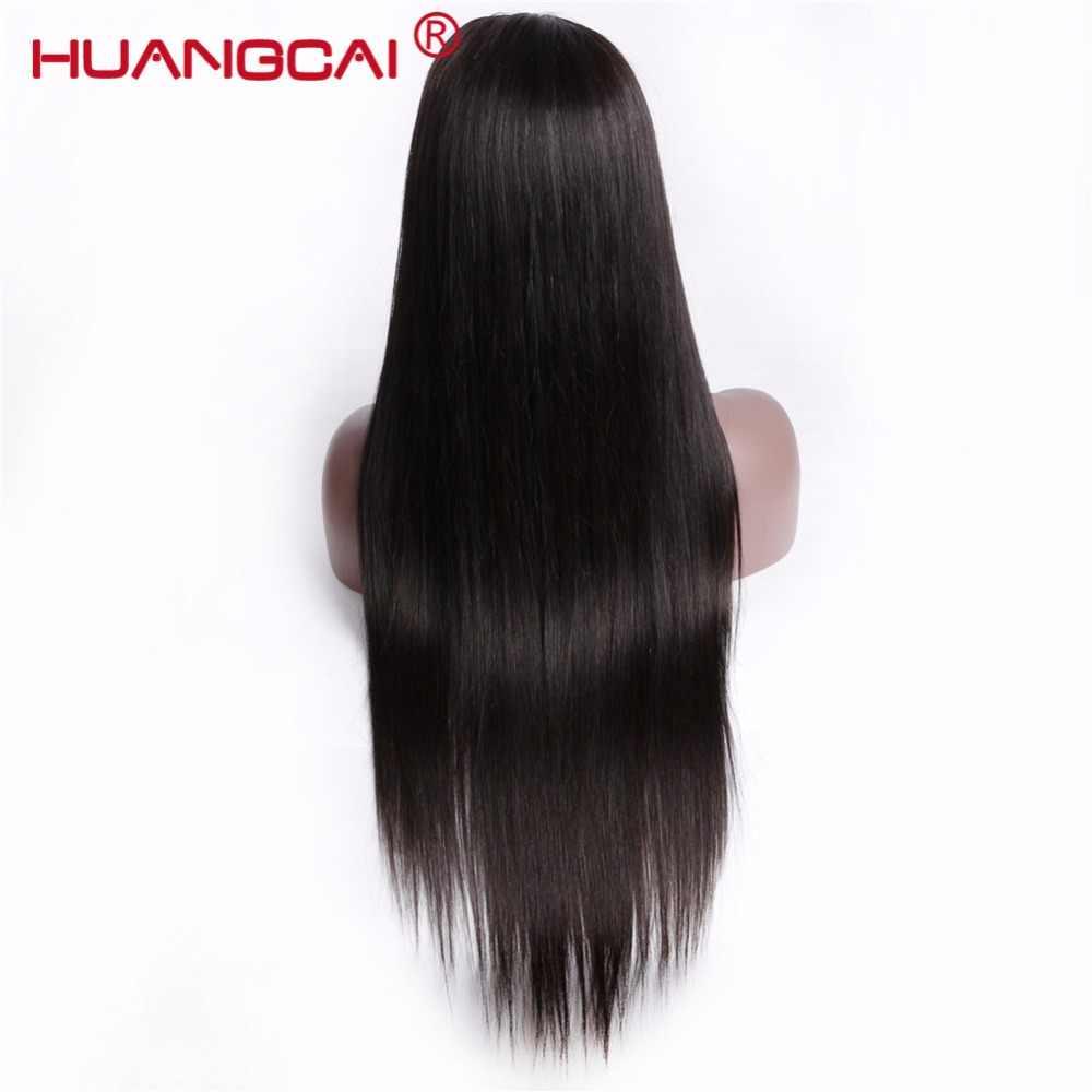 360 парик с кружевом спереди al предварительно сорвал с волосами младенца 150% бразильские прямые Полный конец человеческих волос парики для женщин парик Remy