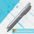 Genuino nuevo stylus pen para microsoft surface pro 3 pro 4 capacitiva blutooth de plata bolígrafo
