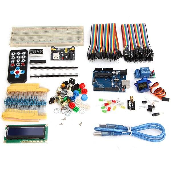 NEW For UNO R3 Development Board Beginner Upgrade Kit For ArduinoNEW For UNO R3 Development Board Beginner Upgrade Kit For Arduino