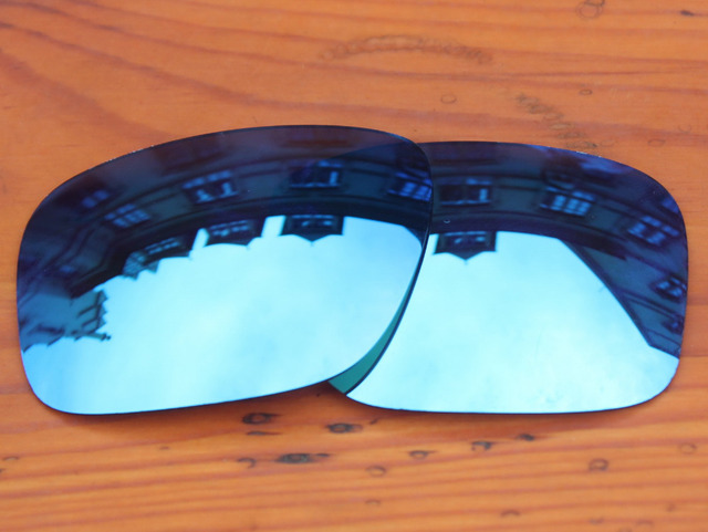 Polycarbonate-Ice Blue Mirror Replacement Lenses For Holbrook Sunglasses Frame 100% UVA & UVB Protection