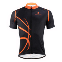 2016 New Basketball Patterns Men S Cycling Jersey Black Bike Clothes Breathable Ciclismo Ropa Size S