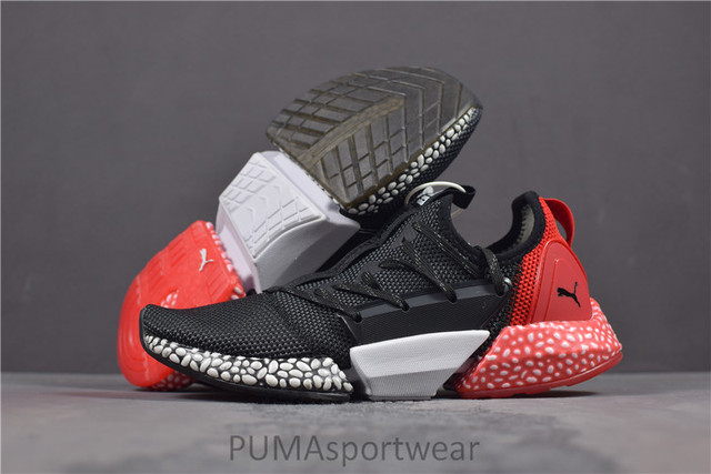 d37f33f3a6953 Hot Sale New Arrival Puma Puma Hybrid Rocket Unisex Sports Shoes Men s and  Wome s Sneakers Badminton Shoes Size36-44