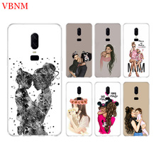 Baby Mom Girl Funny New Phone Back Case For OnePlus 7 Pro 6 6T 5 5T 3 3T 7Pro 1+7 Gift Patterned Customized Cases Cover Coque