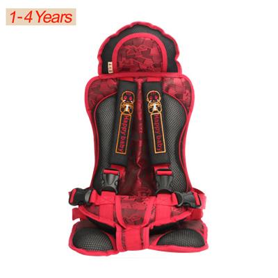 WENDYWU Assento de Carro Do Bebê Assento de Segurança Do Carro da Criança para o Bebê de 9-28 KG de Poliéster & almofada de algodão Preto e vermelho Cor meninos carro assento