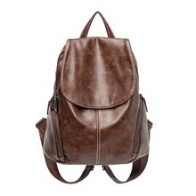 2019 New Fashion Women's Backpack Travel PU Leather bag Daypack Rucksack Shoulder School Bag