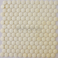 3D Convex Thick 4mm White Shell Mosaic Tiles Mother Of Pearl Bathroom Wall Floor Mosaic Tiles