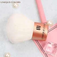 UNIQUE COLORS Kabuki Brush Makeup Brushes Cosmetics Shimmer Power Blush Face Make Up Brush High Quality Soft Face Makeup
