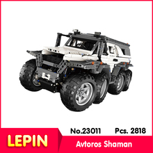 Lepin 23011 2818pcs Technic SeriesSiberian off-road chariot Model Building Blocks Compatible Legoe 5360 children toy