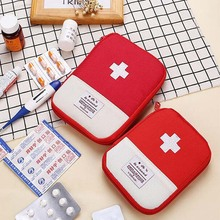 Mini Portable Outdoor Travel First Aid kit Medicine bag Home Medical Storage Box Emergency Survival Pill Case large medicine bag travel outdoors camping pill storage bag first aid emergency case survival kit