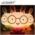 LEDIARY Fashion Rabbit Desk Lamp E14 Replaceable Light Source Night Light Baby Bedside Lamp Warm White/Cold White