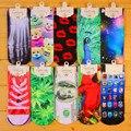 3D impreso algodón calcetines Harajuku Europa personalidad impresión párrafo corto calcetines calcetines Pareja