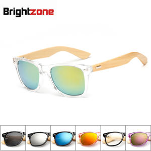Sunglasses-Products Frame Wood-Lens Bamboo Retro Vintage Men Women New-Fashion Handmade