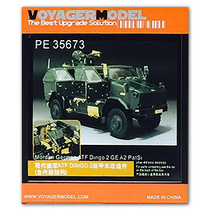 KNL HOBBY Voyager Model PE35673 ATF wild dog 2 GE A2 full protection armor car with metal etching parts