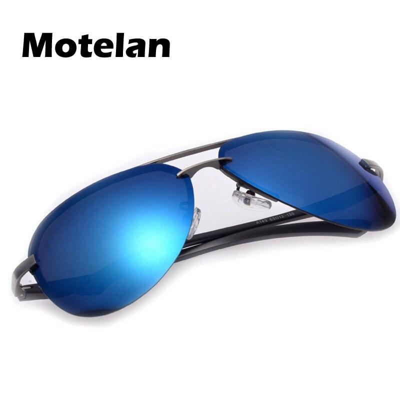 698987ad22c Men s 100% UV400 Polarized Metal Frame Driving Sunglasses Color Mirror Lens  Eyewear Oculos de sol